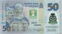50 Naira NIGERIA  2010 P.37 NEUF
