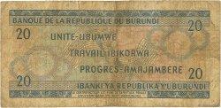 20 Francs BURUNDI  1968 P.21a B