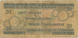 20 Francs BURUNDI  1973 P.21b B
