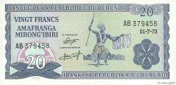 20 Francs BURUNDI  1973 P.21b SPL