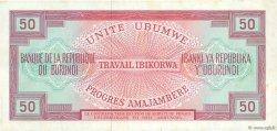 50 Francs BURUNDI  1968 P.22a TTB+