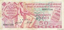 50 Francs BURUNDI  1971 P.22b