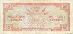 50 Francs BURUNDI  1965 P.11a B