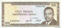 100 Francs BURUNDI  1973 P.23b SPL
