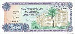 500 Francs BURUNDI  1979 P.34a pr.NEUF