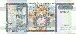 1000 Francs BURUNDI  1997 P.39b NEUF