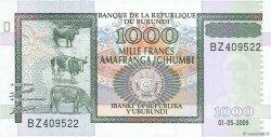 1000 Francs BURUNDI  2009 P.46 NEUF