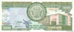 5000 Francs BURUNDI  1999 P.42a NEUF