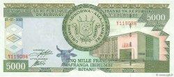 5000 Francs BURUNDI  2003 P.42b pr.SPL