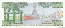 5000 Francs BURUNDI  2005 P.42c SPL