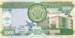 5000 Francs BURUNDI  2008 P.48 NEUF