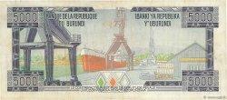 5000 Francs BURUNDI  1981 P.32a TB+