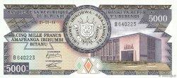 5000 Francs BURUNDI  1986 P.32b NEUF