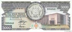 5000 Francs BURUNDI  1995 P.32d NEUF