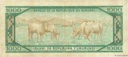 1000 Francs BURUNDI  1982 P.31b TB
