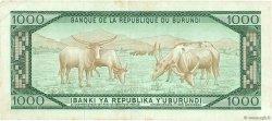 1000 Francs BURUNDI  1984 P.31b TTB