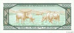 1000 Francs BURUNDI  1989 P.31d NEUF