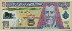 5 Quetzales GUATEMALA  2010 P.New NEUF