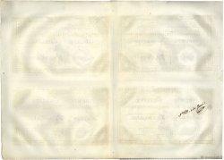 Planche de 50 Livres FRANCE  1792 Ass.39a SPL