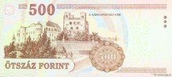 500 Forint HONGRIE  2007 P.196a NEUF