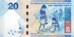 20 Dollars HONG KONG  2010 P.212a NEUF