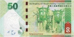 50 Dollars HONG KONG  2010 P.213a NEUF