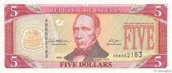 5 Dollars LIBERIA  2008 P.26d NEUF