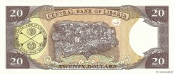 20 Dollars LIBERIA  2008 P.28d NEUF