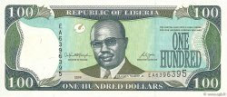 100 Dollars LIBERIA  2008 P.30d NEUF