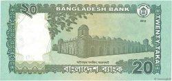 20 Taka BANGLADESH  2012 P.55b NEUF