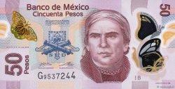 50 Pesos MEXIQUE  2012 P.123k NEUF