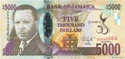 5000 Dollars JAMAÏQUE  2012 P.93 NEUF