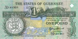 1 Pound GUERNESEY  2013 P.62 NEUF
