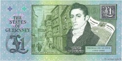 1 Pound GUERNESEY  2013 P.62 NEUF