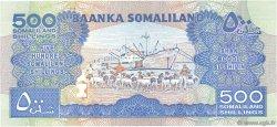 500 Shillings SOMALILAND  2011 P.06h NEUF