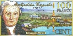 100 Francs KERGUELEN  2010 P.-s NEUF