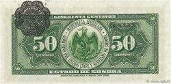 50 Centavos MEXIQUE Hermosillo 1915 PS.1070 NEUF
