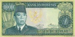 1000 Rupiah INDONÉSIE  1960 P.088a TTB+