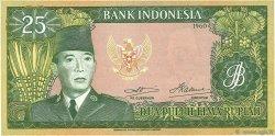 25 Rupiah INDONÉSIE  1960 P.084a NEUF