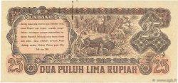25 Rupiah INDONÉSIE  1947 P.023 SUP