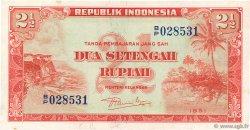 2,5 Rupiah INDONÉSIE  1951 P.039 NEUF
