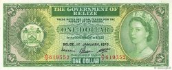 1 Dollar BELIZE  1976 P.33c SPL+