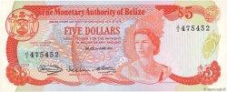 5 Dollars BELIZE  1980 P.39a pr.NEUF