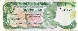 1 Dollar BELIZE  1986 P.46b TTB