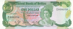 1 Dollar BELIZE  1986 P.46b NEUF