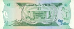 1 Dollar BELIZE  1987 P.46c SUP