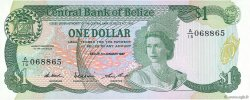 1 Dollar BELIZE  1987 P.46c NEUF