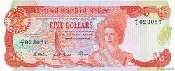 5 Dollars BELIZE  1989 P.47b NEUF