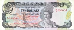10 Dollars BELIZE  1987 P.48a TTB