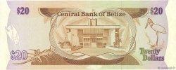 20 Dollars BELIZE  1987 P.49b SUP